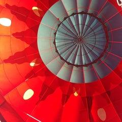 Photo taken at Magical Adventure Balloon Rides by Carolina H. on 1/14/2014