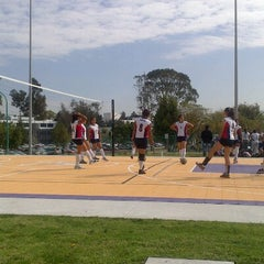 Photo taken at Polideportivo Ignacio Manuel Altamirano by Raul C. on 11/7/2012