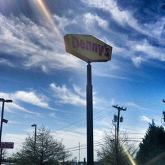 Photo taken at Denny's by Faith H. on 4/13/2013