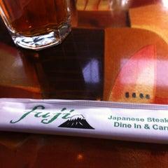 Photo taken at Fuji Japanese Steak House by 🅿🅾🅿 on 3/2/2013