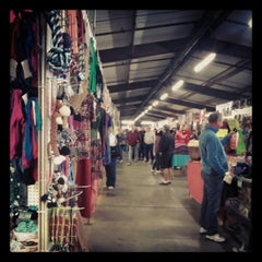 Photo taken at Mesa Market Place Swap Meet by Tia L. on 1/26/2013