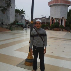 Photo taken at Alun-Alun Karawang by aad h. on 11/29/2013