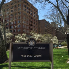 Photo taken at William Pitt Union by Amy F. on 4/18/2015