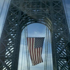 Photo taken at George Washington Bridge by Miki H. on 11/12/2012