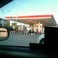 Photo taken at SPBU Pertamina 74.902.26 by acha s. on 10/30/2012