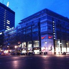 Photo taken at Niketown Berlin by Niek K. on 2/9/2013
