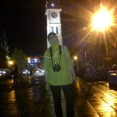 Photo taken at Jam Gadang by Rahma k. on 11/13/2012