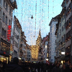 Photo taken at Rennweg by Bernhard S. on 12/13/2014