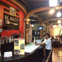 Photo taken at El Raco Restaurant Bar by Carlos R. on 6/2/2013