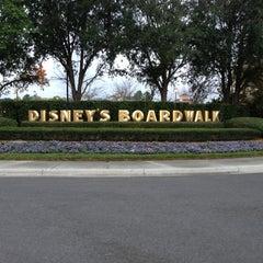 Photo taken at Disney's Boardwalk Villas by John S. on 1/20/2013