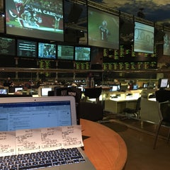 Photo taken at Bally's Sportsbook by Clement L. on 1/3/2016
