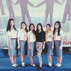 Photo taken at SMA Negeri 1 Manado by Meylita O. on 4/10/2015