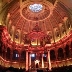 Photo taken at Église Saint-Jean-Baptiste by Mohammed A. on 12/23/2014