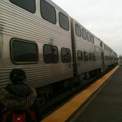 Photo taken at Metra - Elmhurst by John O. on 12/7/2012