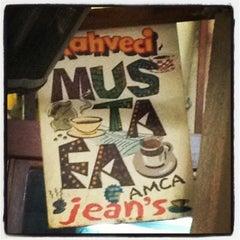 Photo taken at Kahveci Mustafa Amca Jean's by Seda Y. on 4/12/2013