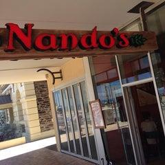 Photo taken at Nando's by Cameron W. on 11/26/2013