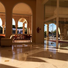 Photo taken at RIU Palace Hammamet Marhaba by Валерий М. on 7/10/2014