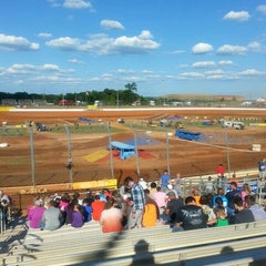 Photo taken at Charlotte Motor Speedway by Drew S. on 8/8/2015