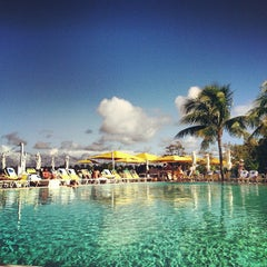 Photo taken at Pool at The Standard Spa, Miami Beach by Mario D. on 12/7/2012