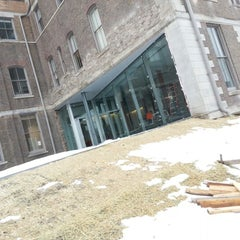 Photo taken at Huntington Hall by Neville W. on 2/12/2013