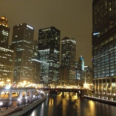 Photo taken at Chicago Riverwalk by Rodrigo A. on 12/19/2012