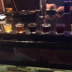 Photo taken at Old Mission Brewery by Natalia M. on 1/18/2014