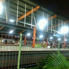 Photo taken at Stasiun Depok Lama by Arsyad L. on 11/18/2012