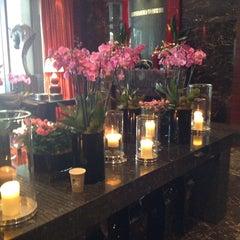 Photo taken at Spa at Four Seasons Hotel London at Park Lane by Chris D. on 6/2/2013