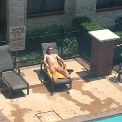 Photo taken at Camden Lofts Pool by Dallas G. on 6/26/2014