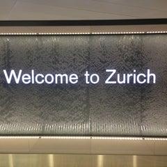 Photo taken at Zürich Airport (ZRH) by Dave M. on 6/3/2013