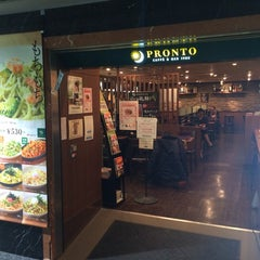 Photo taken at PRONTO 京都駅ビル店 by Masatake K. on 2/14/2014