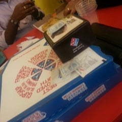 Photo taken at Domino's Pizza by Raakhi K. on 12/31/2012