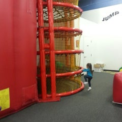 Photo taken at Bounce U by Humberto R. on 12/8/2012