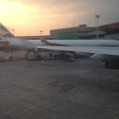Photo taken at Saudia Airlines, NAIA Terminal 1 by Marziano Z. on 3/5/2014