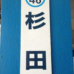 Photo taken at 杉田駅 (Sugita Sta.) (KK46) by Pon N. on 3/7/2013
