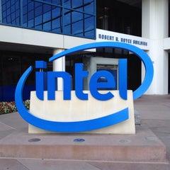 Photo taken at Intel by Conrad Y. on 10/9/2015