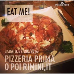 Photo taken at Pizzeria Prima O Poi by Carol on 12/27/2014