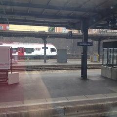 Photo taken at Stazione di Bellinzona by Anita B. on 4/13/2014