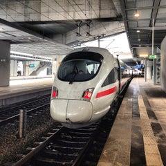 Photo taken at Bahnhof Berlin Südkreuz by Andreas H. on 12/15/2012