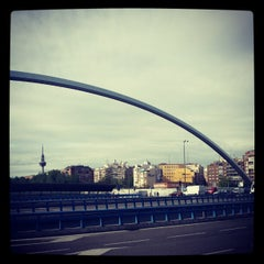 Photo taken at Puente de Ventas by LoPavlo on 5/7/2013
