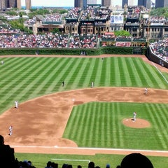 Photo taken at Wrigley Field by Nick S. on 6/13/2013