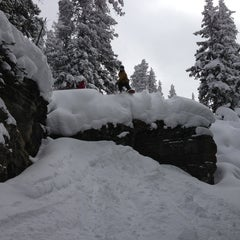 Photo taken at Back Bowls at Vail by James B. on 2/23/2013