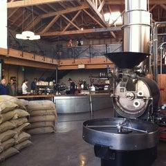 Photo taken at Sightglass Coffee by Jon C. on 11/25/2012