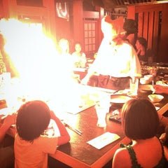 Photo taken at Japanese Village Steak House by Kevin L. on 7/18/2014