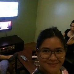 Photo taken at World Music Room KTV by April S. on 4/1/2015