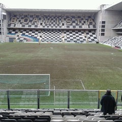 Photo taken at Estádio Bessa XXI by Isabel O. on 12/22/2012