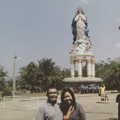 Photo taken at Gua Maria Kerep by Bayu A. on 8/23/2015