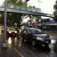 Photo taken at Av. División del Norte by Tato G. on 5/24/2013