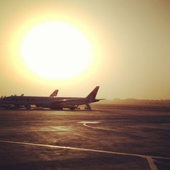 Photo taken at Cairo International Airport (CAI) by Aven F. on 1/26/2013