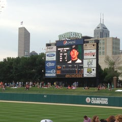 Photo taken at Victory Field by Ann J. on 6/22/2013